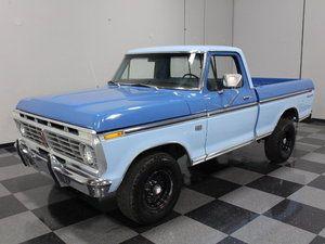 1975 F100 Ranger Xlt Classic Ford Trucks Ford Trucks Classic Trucks