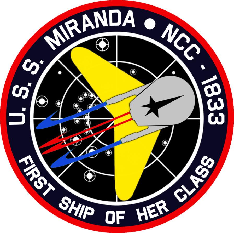 Uss Miranda Commissioning Insignia By Viperaviator On Deviantart Star Trek Movies Star Trek Pin Star Trek Original