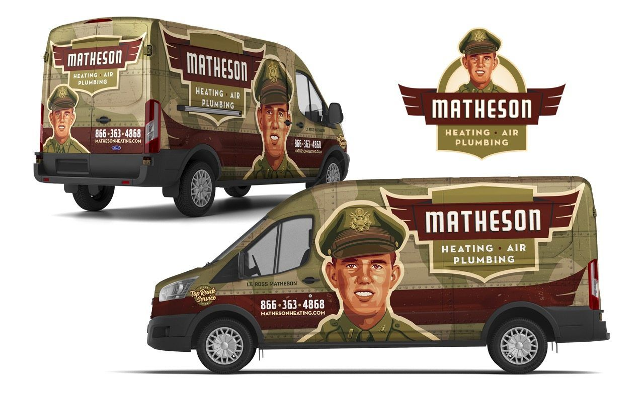 Truck Wrap Design For This Michigan Based Hvac And Plumbing