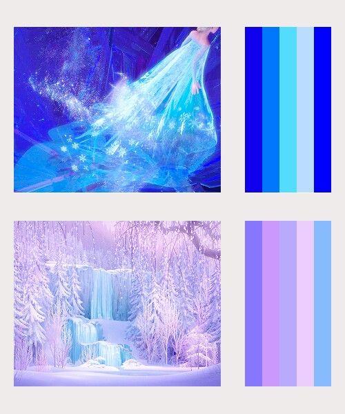Disney Paint Colors And Ideas: Frozen Color Schemes