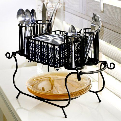 MESA Delaware Buffet Silverware Caddy Dinner Plate Holder... https ...