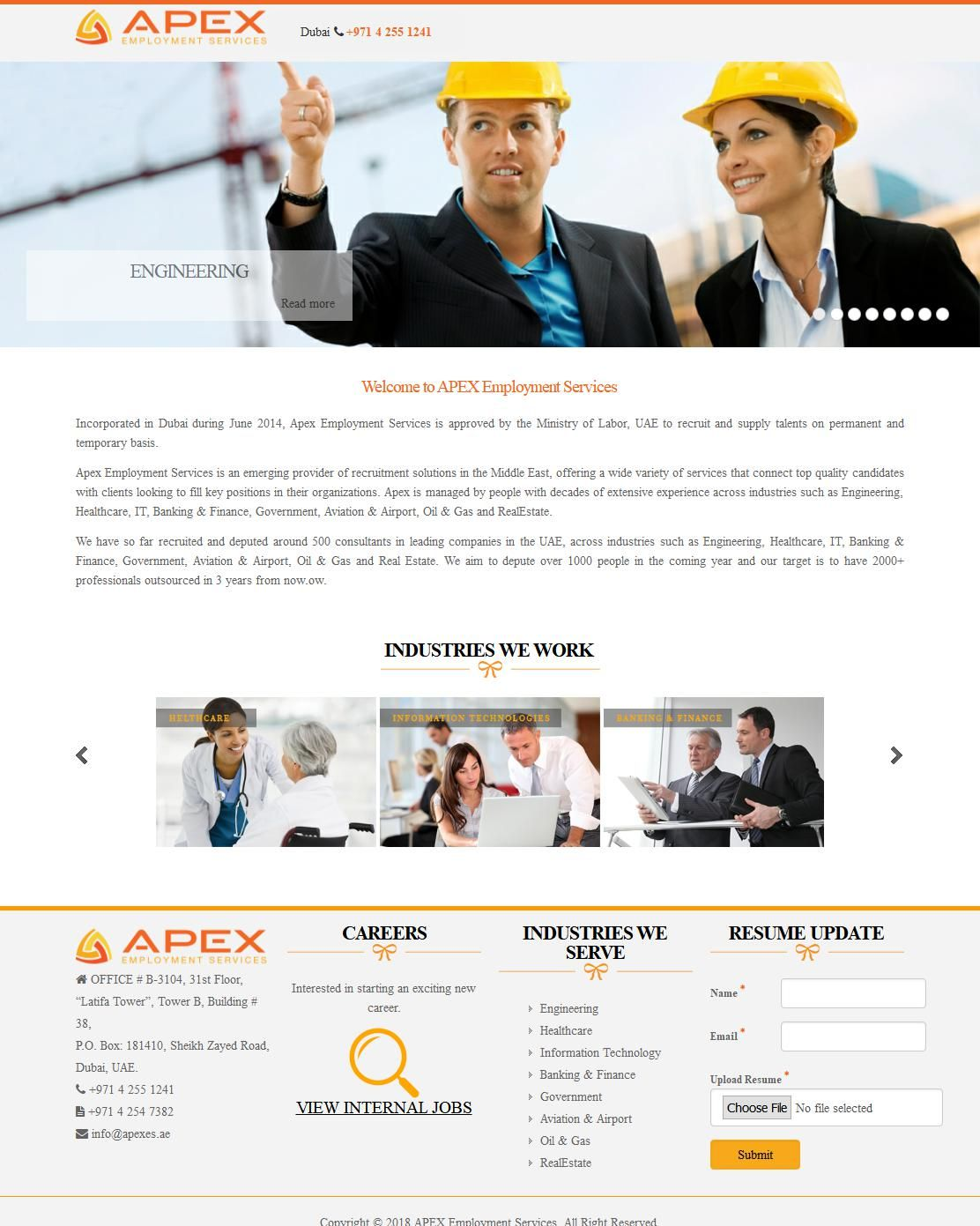 Apex Employment Services Company National General