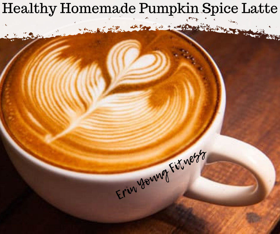 Healthy Homemade Pumpkin Spice Latte Homemade pumpkin