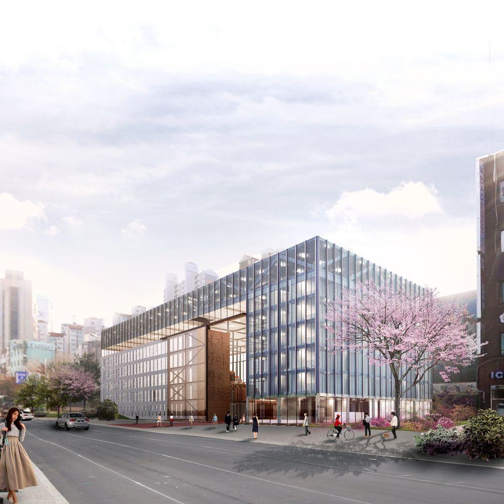 Galeria de Architects for Urbanity projeta novo equipamento de acolhimento a…