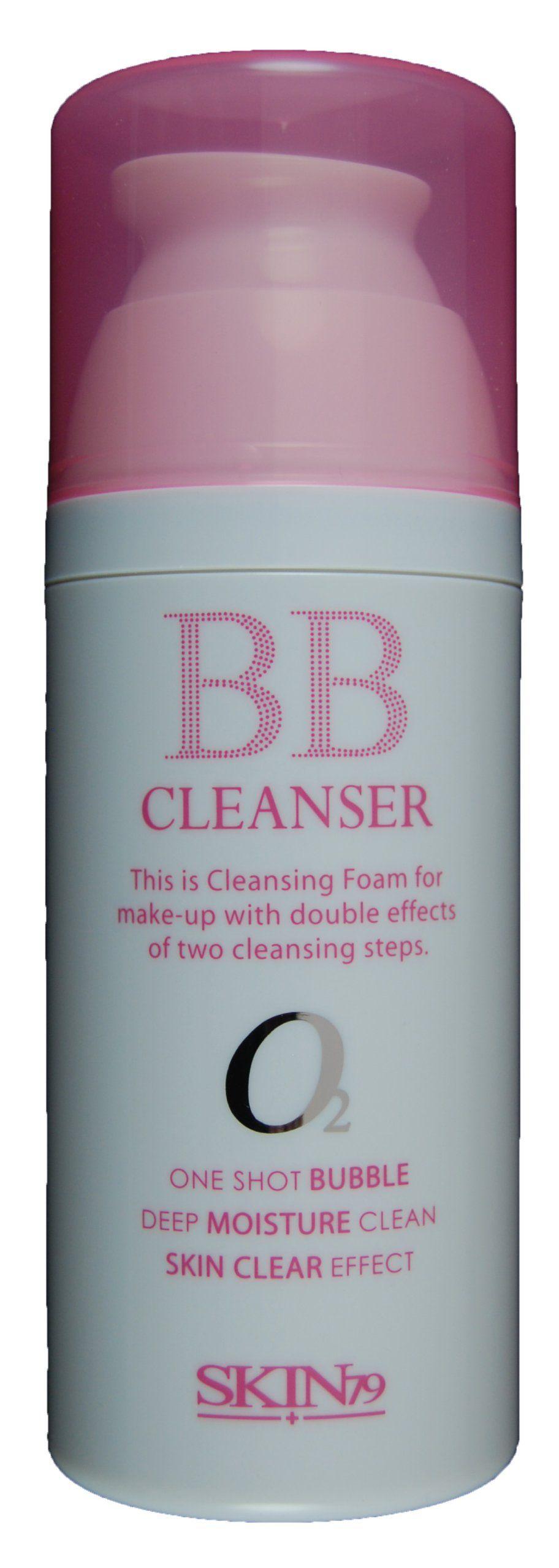 SKIN79 BB CLEANSER WITH SKIN DETOX EFFECT 100ml. ONE SHOT BUBBLE / DEEP MOISTURE CLEAN / SKIN CLEAR EFFECT. 100% GENUINE GUARANTEED.