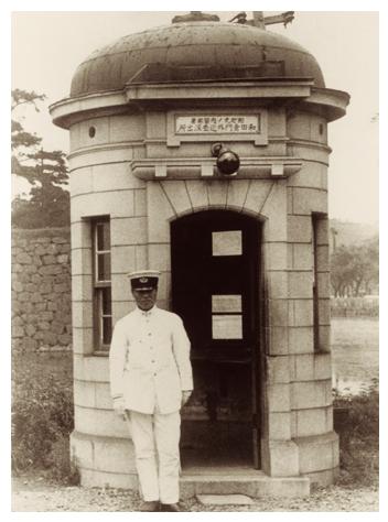 police box japan 1910 大正時代 大正 古写真
