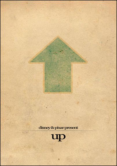 Up (2009) ~ Minimal Movie Poster by Brenton Powell