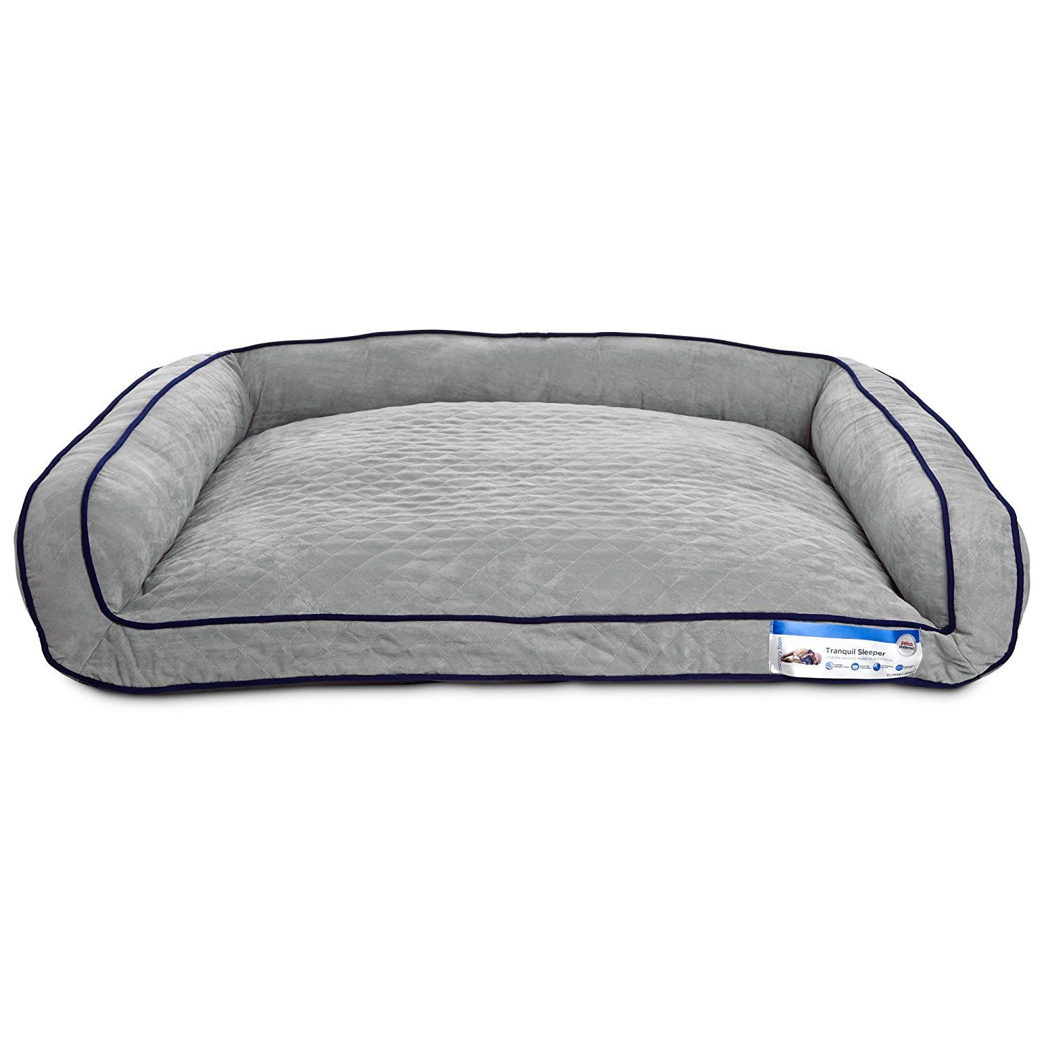 Tranquil Sleeper Memory Foam Dog Bed Startling Review Available Here This Is An Affiliate Link And Memory Foam Dog Bed Dog Bed Dog Bed Furniture