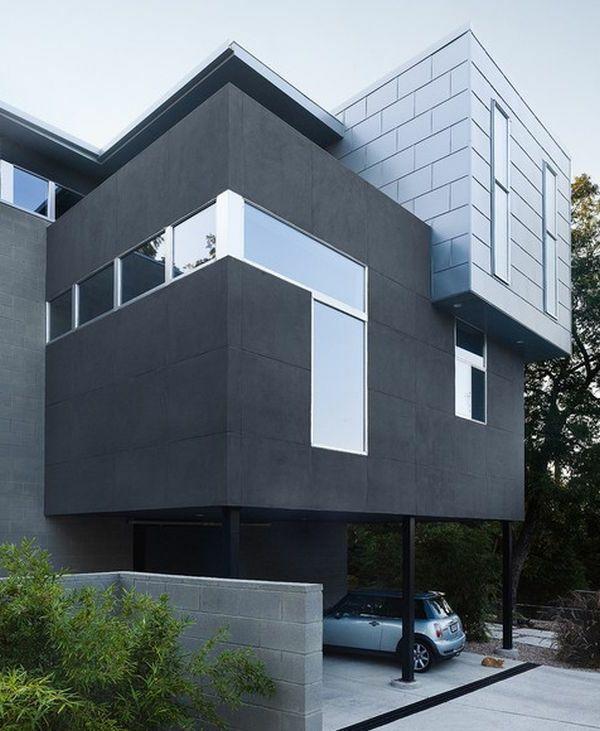 Graue Fassade graue fassade ja das ist eine sehr gute wahl neubau