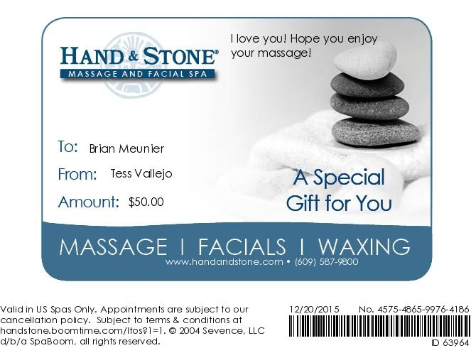 Your Instant Gift Certificate Massage  Health Pinterest Gift