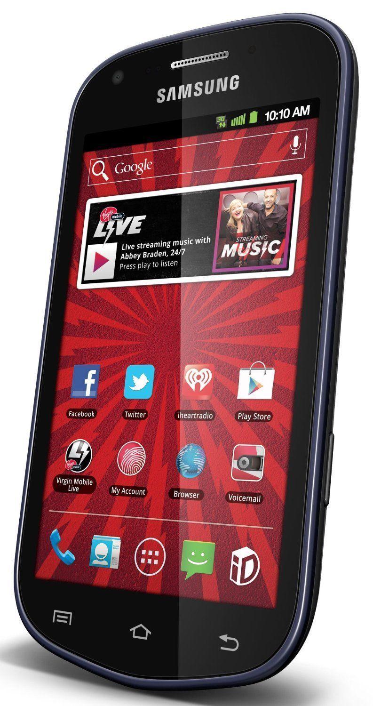 Samsung Galaxy Reverb Sph M950 4gb Black Virgin Mobile