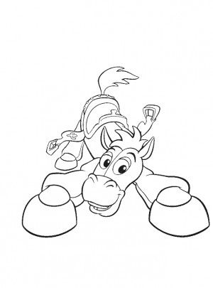 Bullseye Toy Story Coloring Pages Toy Story Coloring Pages
