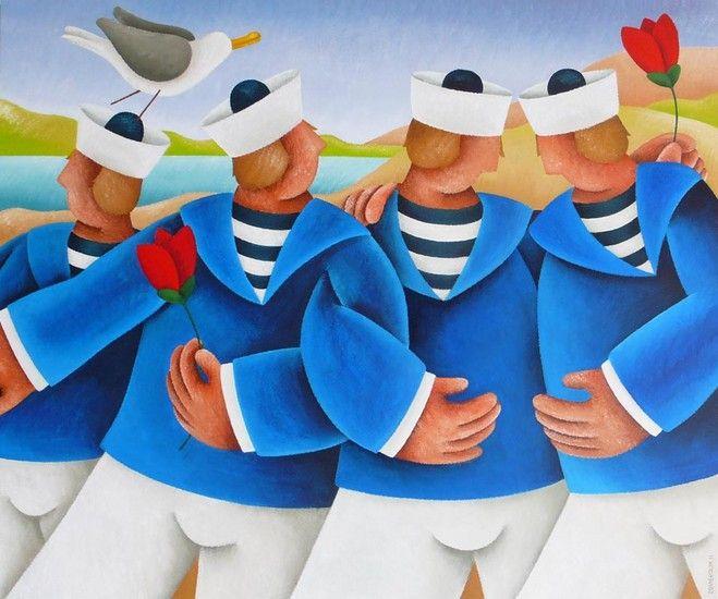 Buiten de boot - Yvonne Zomerdijk