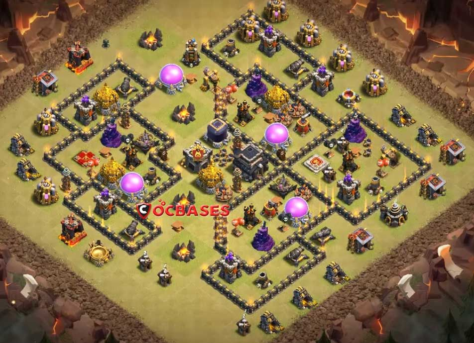 Best Th9 Defense Base 2019 Anti Everything 9