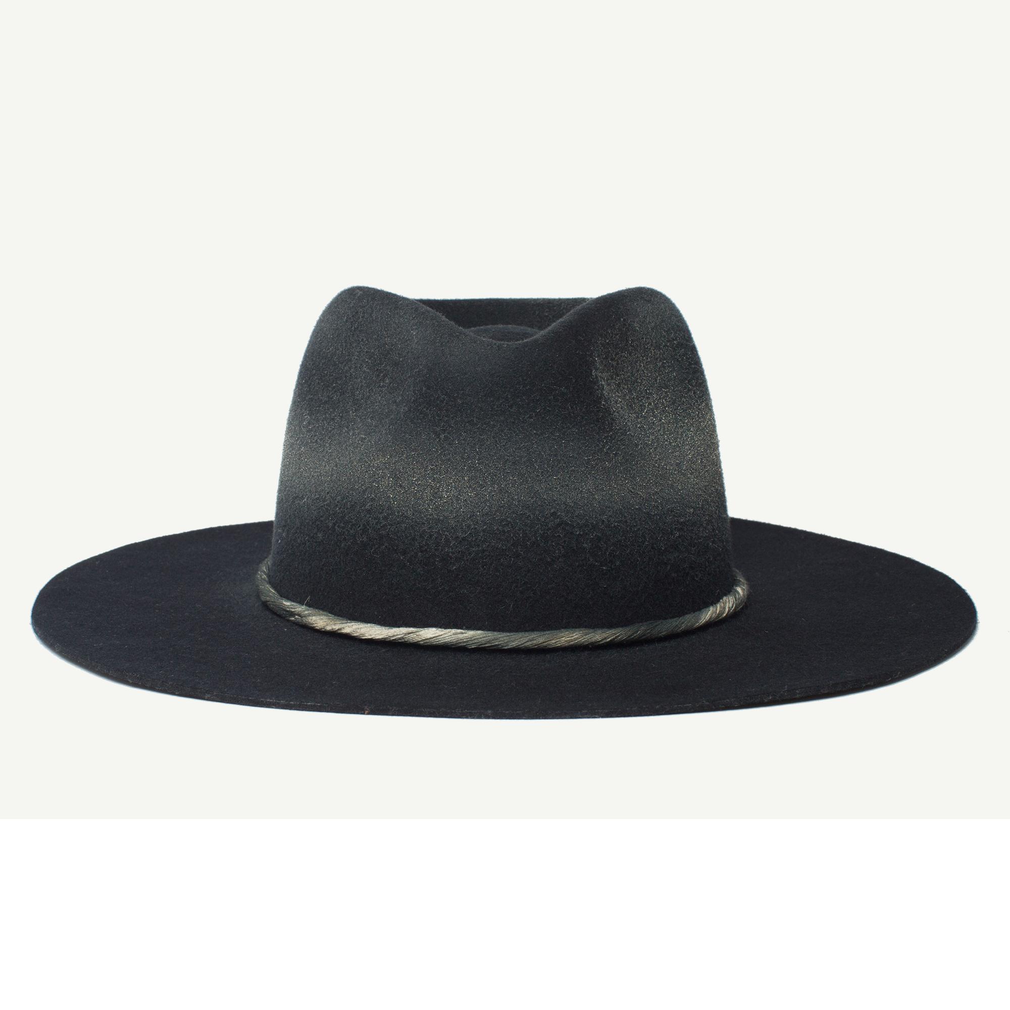 Mr Nix Black Felt Wide Brim Fedora Hat Front View Hats For Men Wide Brim Fedora Xl Mens Fashion