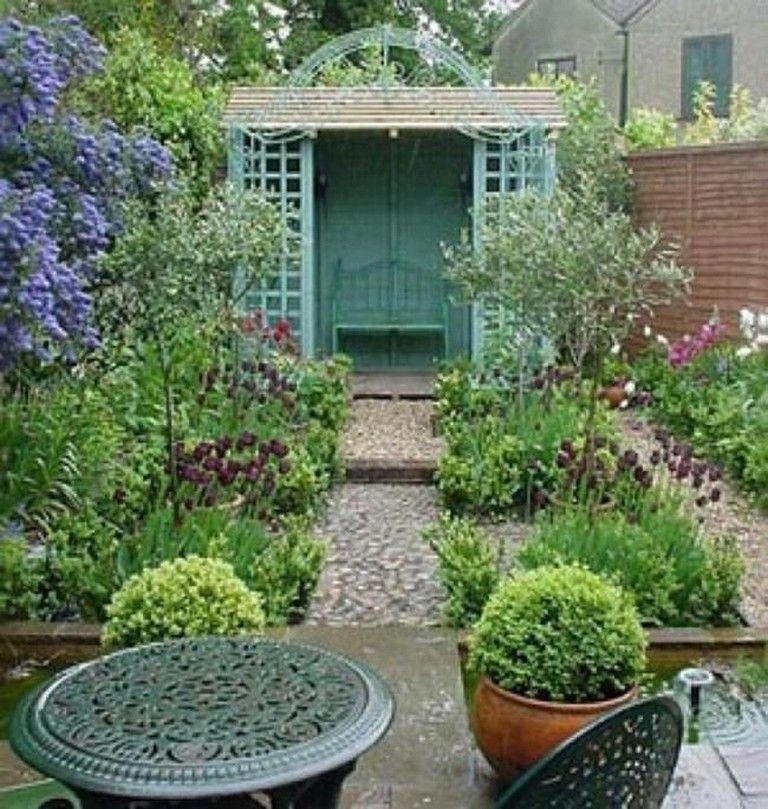 25+ Wonderfull Small Cottage Gardens Design Ideas #garden ...