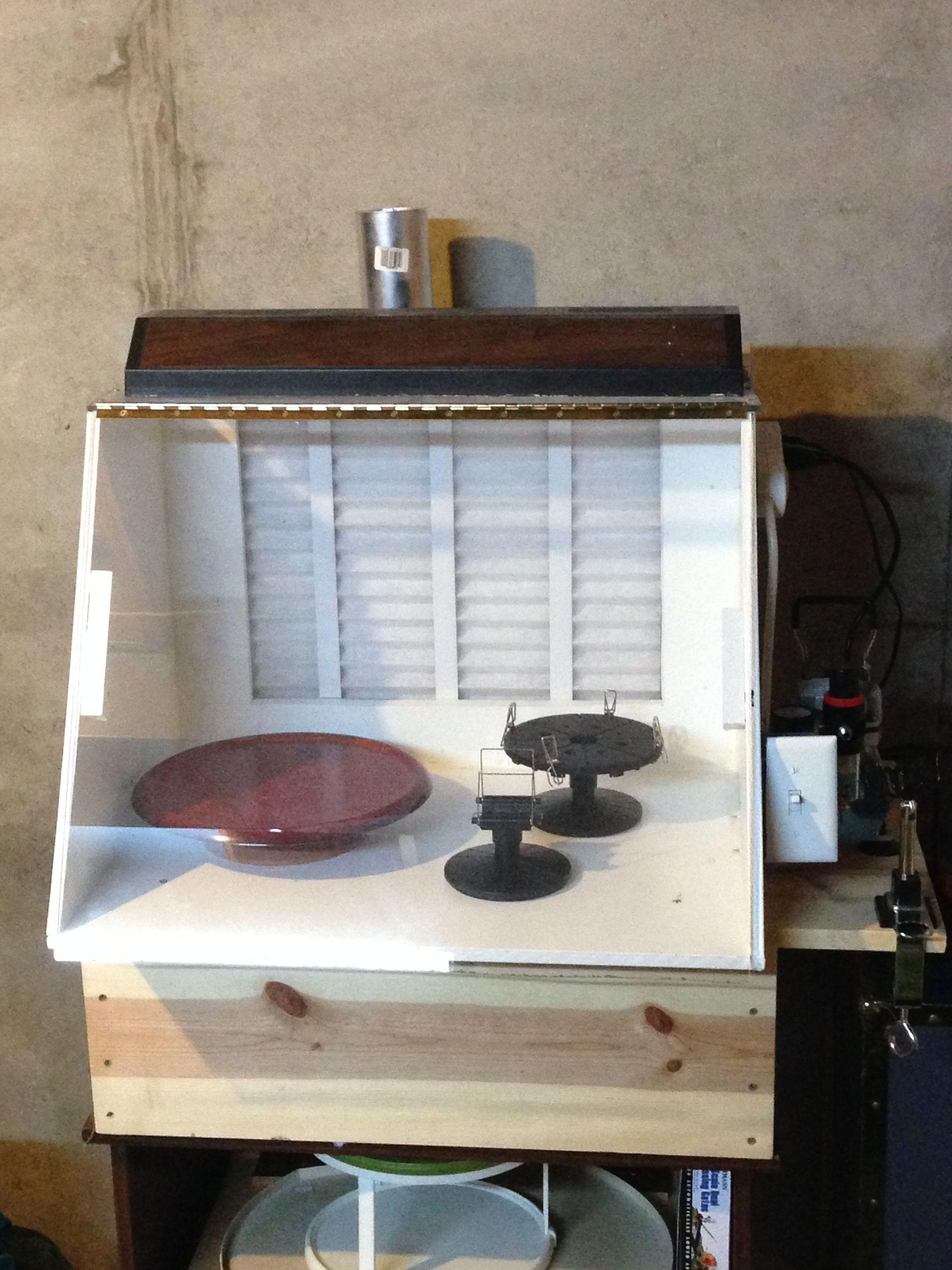 Custm paint booth spray booth diy airbrush spray booth