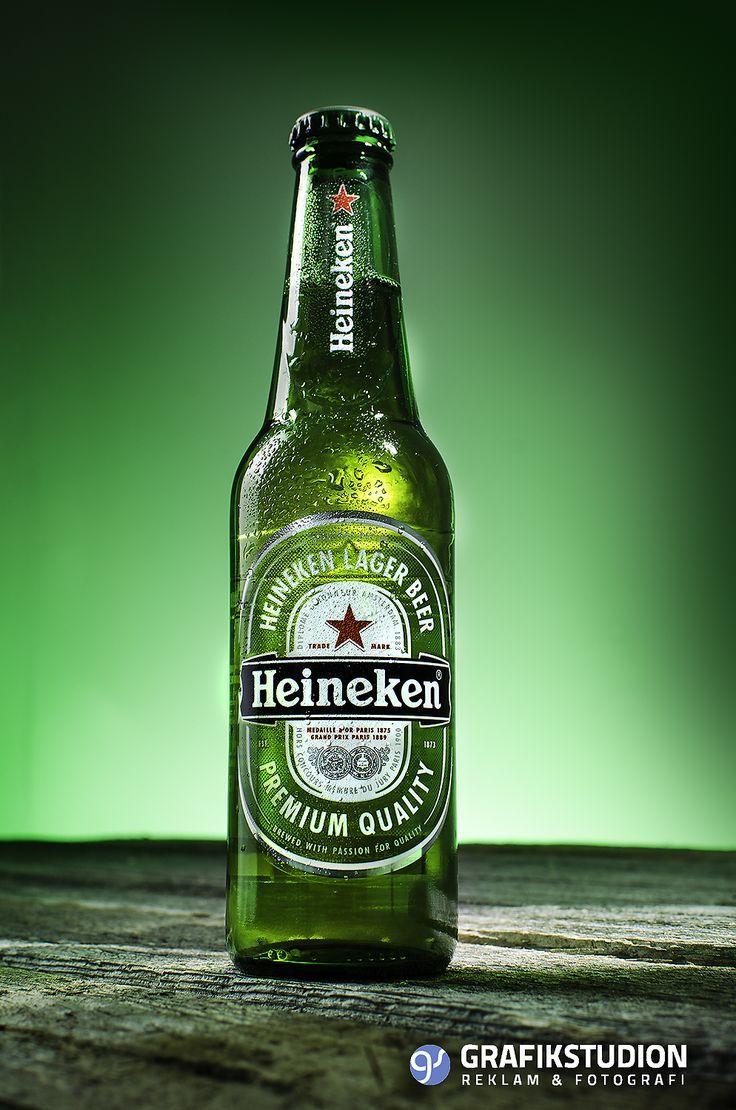 Heineken Beer Bottle Product photography. Produktfoto