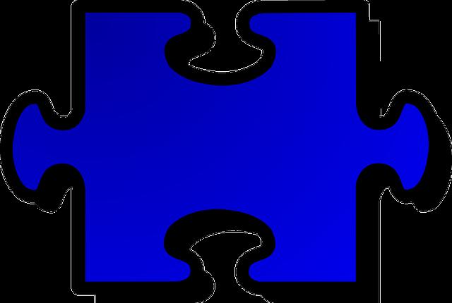 Free Image On Pixabay Jigsaw Puzzle Piece Blue Disenos De Unas Unas Azules Vinilos