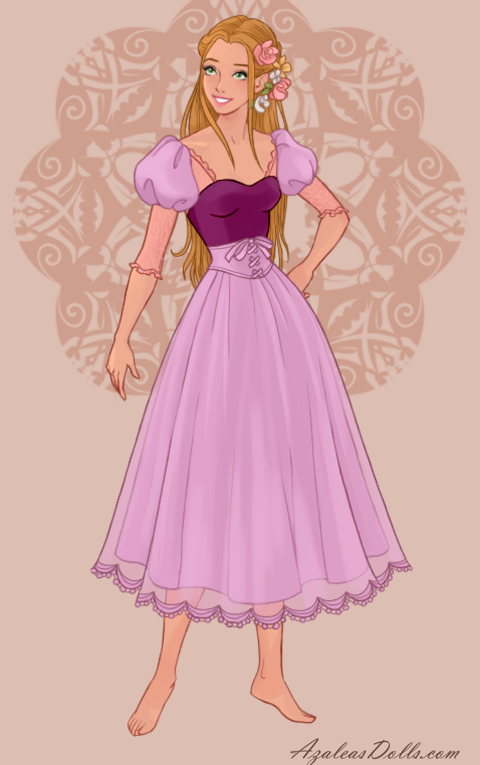 Rapunzel In Wedding Dress Design Dress Up Game Designer Wedding Dresses Rapunzel Designer Dresses