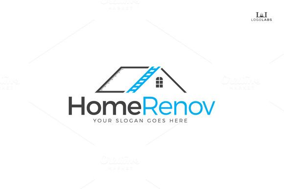 Check Out Home Renovation Logo By Logolabs On Creative
