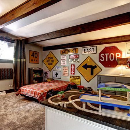Bon Signs Used In Interior, Teenage Boys Bedroom Ideas