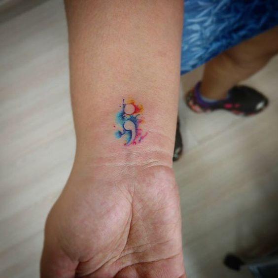 Tatuaje Punto Coma Semicolon Taattoos 15 Jpg 564 564 Con