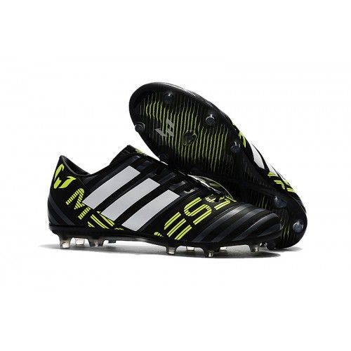 ducha Popular Autenticación  Adidas Messi Nemeziz 17.1 FG Fotballsko Svart Hvit Gul | Soccer cleats,  Football shoes, Soccer boots