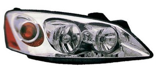 2010 Pontiac G6 Right Passenger Side Head Light Assembly With Amber Lens Does Not Include Wiring Harness Gm2503255N