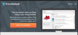 Price Defend est un virus adware fiable qui permet de détruire la conception par défaut de ne importe quel ordinateur Windows. Ce est plein de liens de publicités désagréables qui viendront au hasard sur votre écran d'ordinateur après s'être installé.
