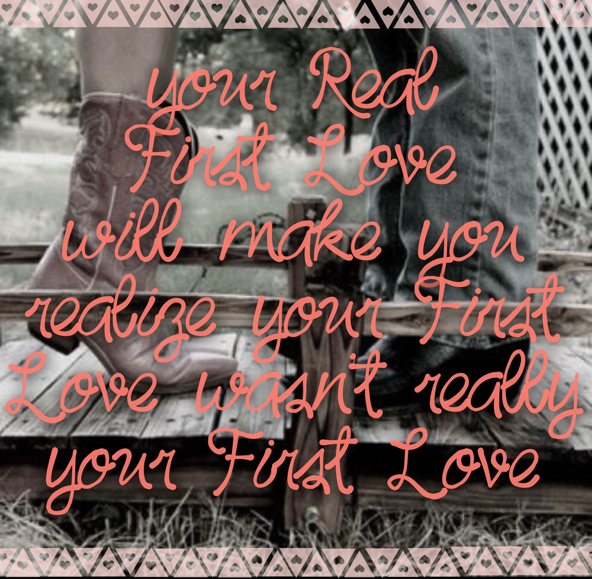 When you know it you know it! #reallove #countrygirl #cowboyboots #lovequote #truth