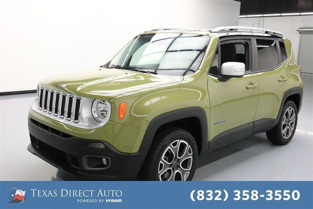 Jeep Renegade Limited Texas Direct Auto 2015 Limited Used 2 4l I4