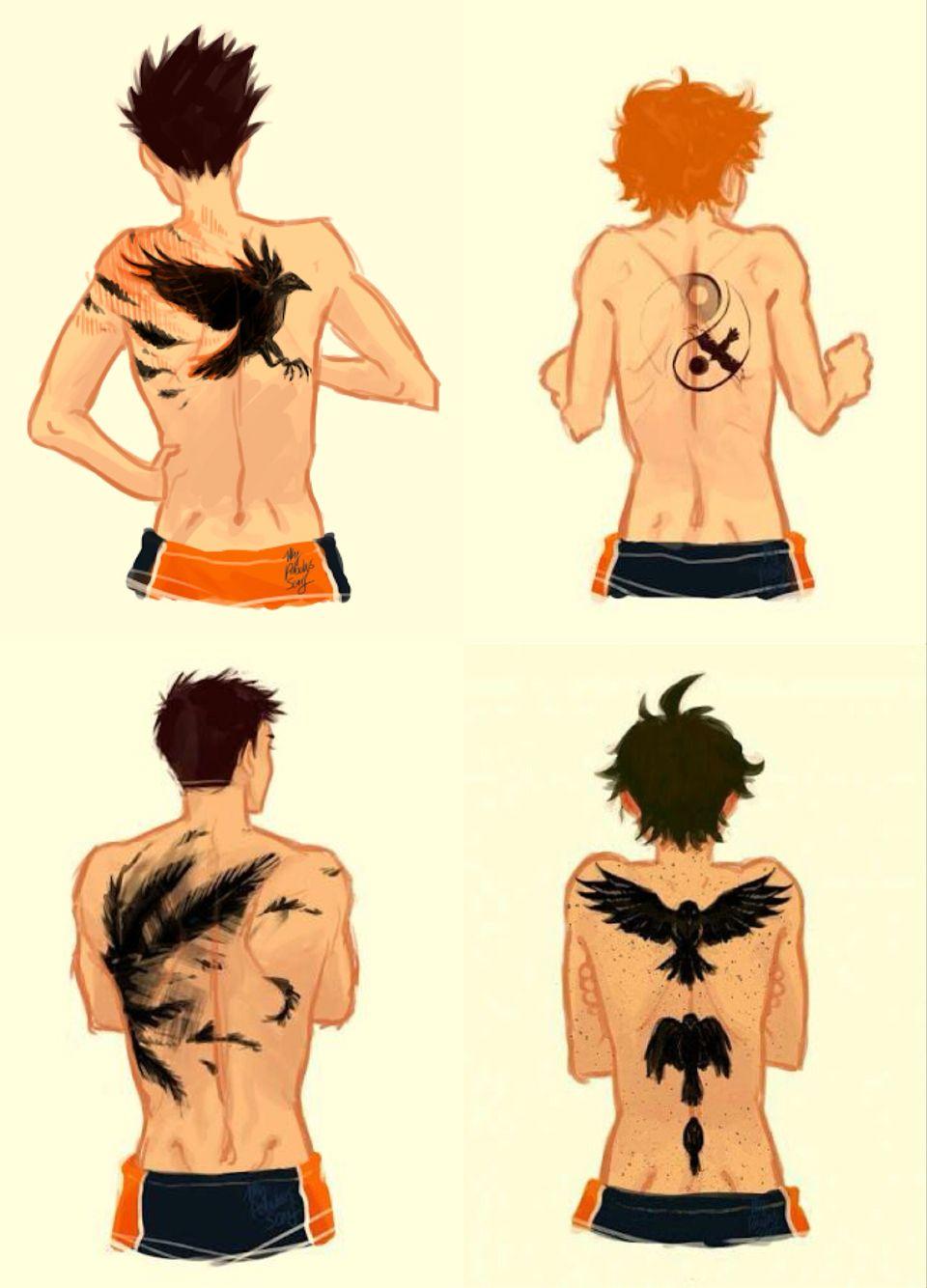 Karasuno tattoos