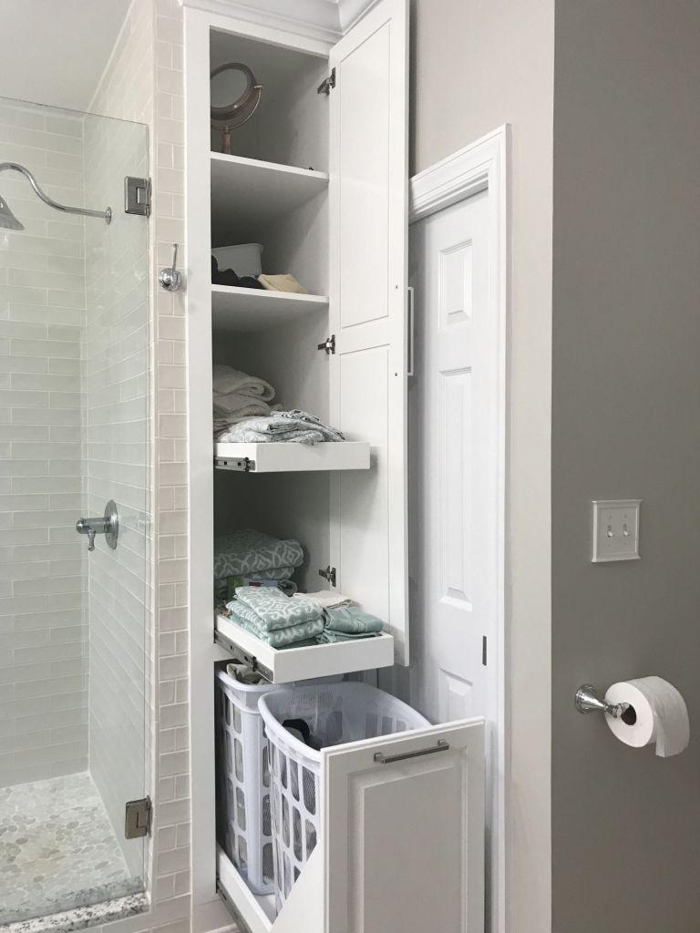 Photo of 27 Bathroom Ideas For Tiny House with Storage ~ Matchness.com