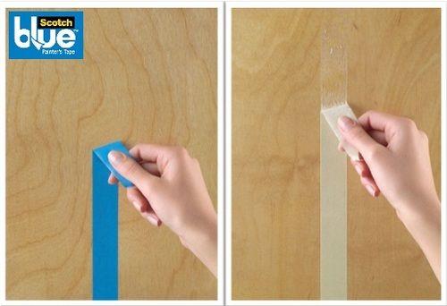 La diferencia es notable, solo la hay una cinta para pintar que no te daña las superficies.¡Scotch Blue calidad de 3M!