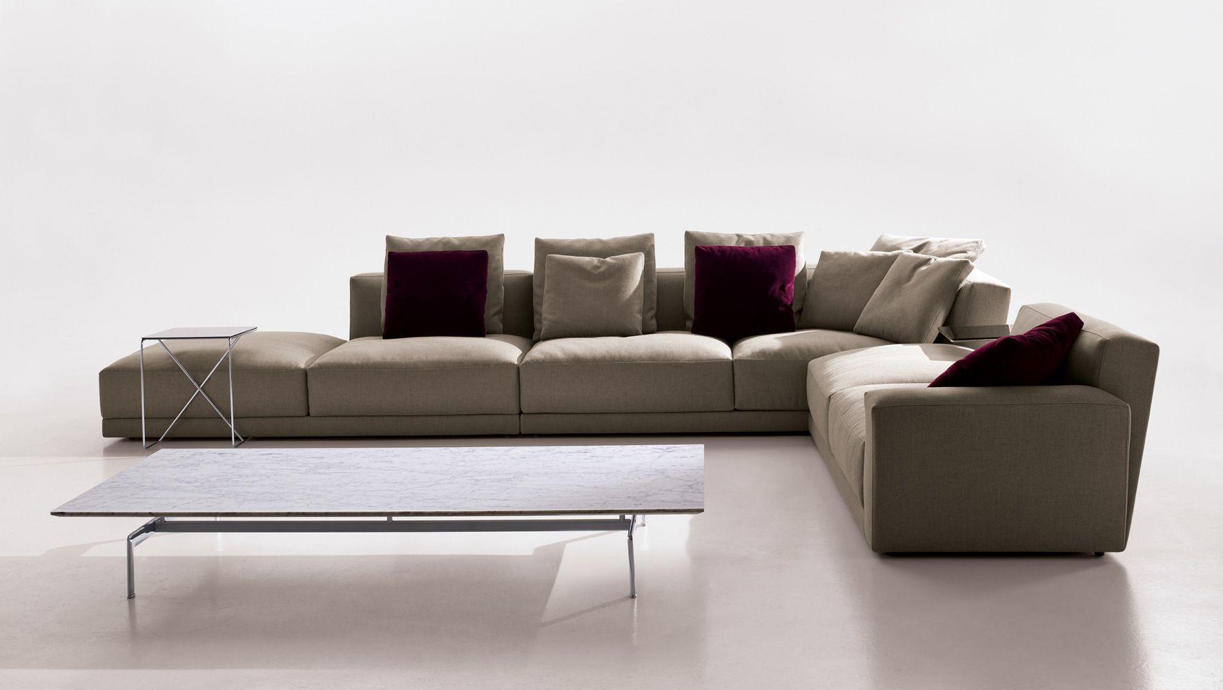 Idea Para Sillón De Sala De Cine Luis Modular Sofa, B&B Italia