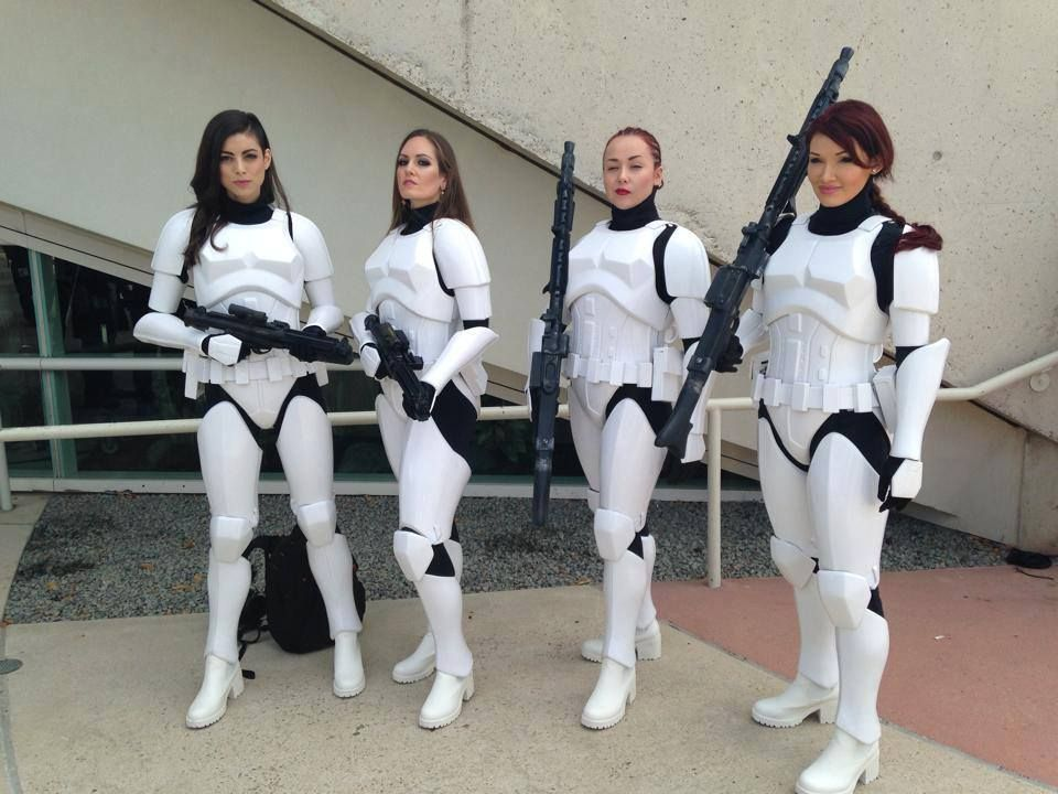 Awesome Female Stormtrooper Armor By Kevin Weir  sc 1 st  Pinterest & Awesome Female Stormtrooper Armor By Kevin Weir | Pinterest | Female ...