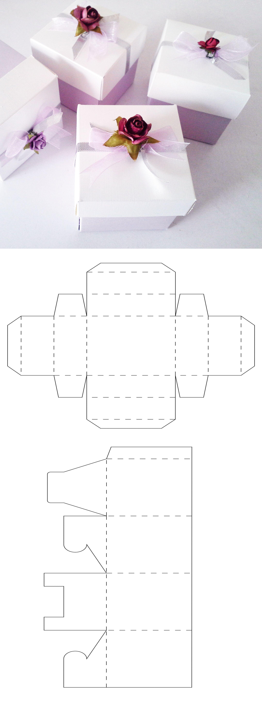 Caja lila con flores que incluye plantilla del molde para descargar desde el sitio web #recuerditos #cajasconflores #cajas #cajitas #cajitasbonitas #scrap #scrapbox #craft #shabbychic #recuerdos