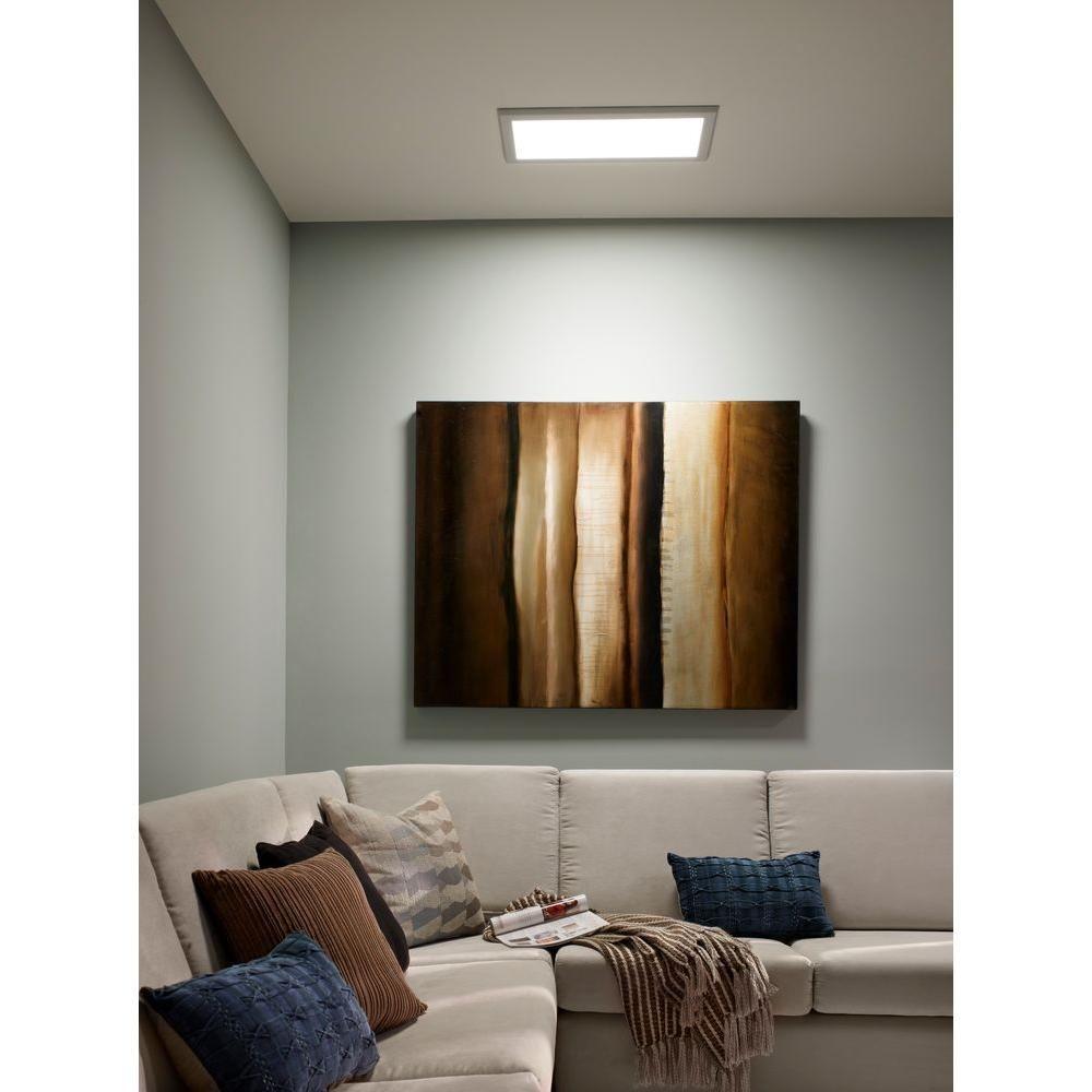 Led Flat Panel Lights For Cellar? Pixi 1 Ft. X 2 Ft. 90 130 Volt Edge Lit  LED Flat Light Luminaire FLT12R27MD1622   The Home Depot