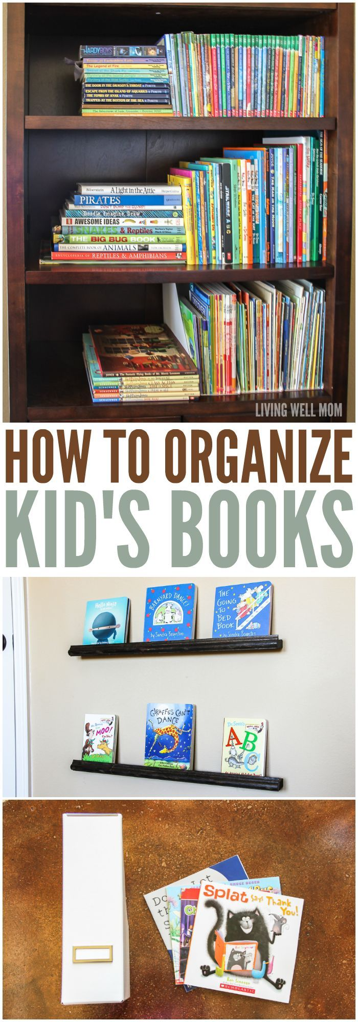 How To Organize Kidsu0027 Books