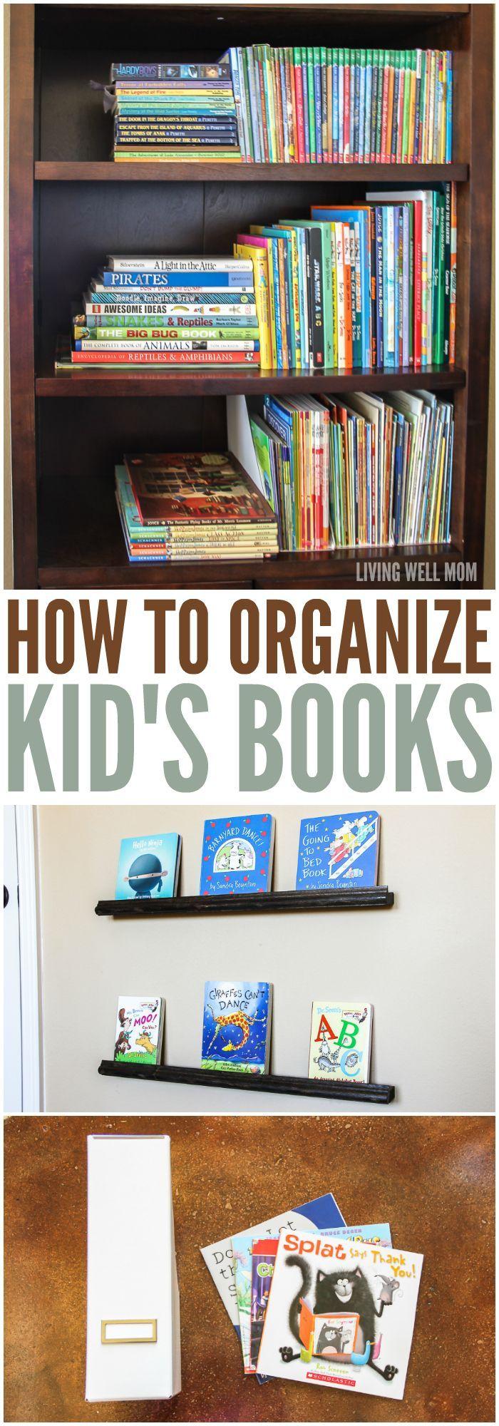 How To Organize Kidsu0027 Books