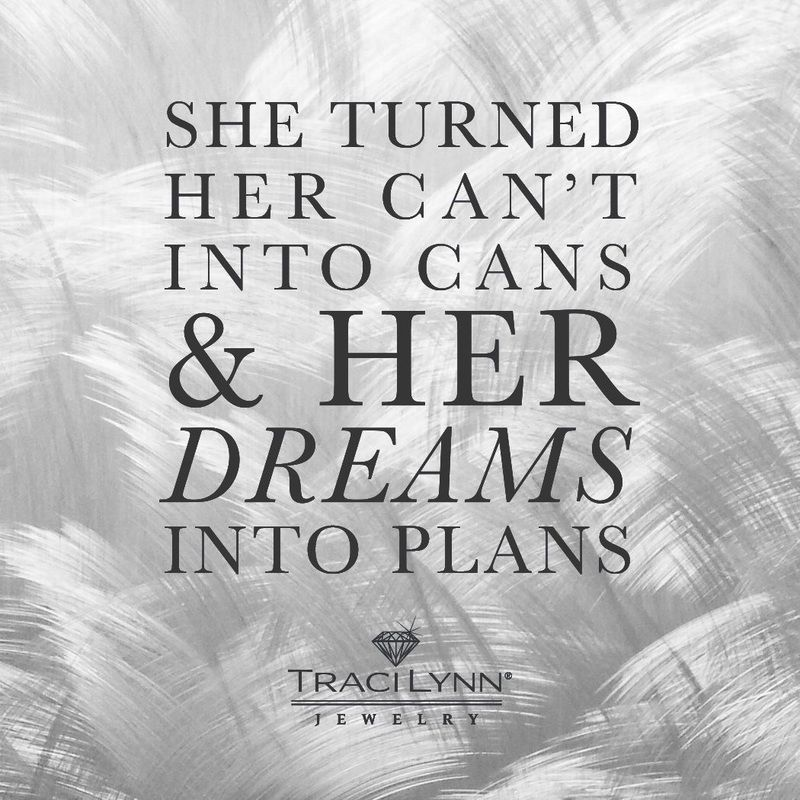 She turned her can't into cans and her dreams into plans #MotivationMonday #InspirationalQuotes