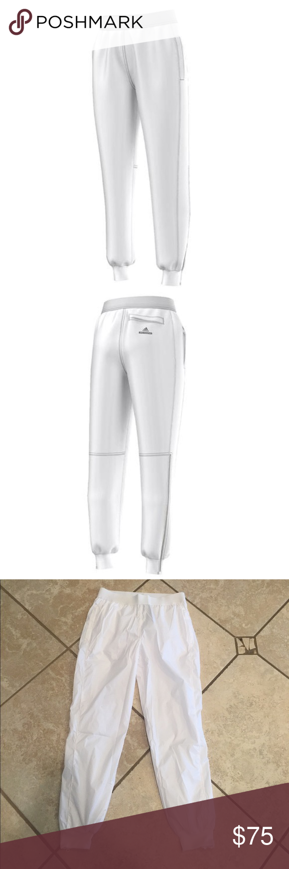 66007b5b8e1c 🎊NWT🎊 Adidas x Stella McCartney Barricade Pants The adidas Women s Stella  McCartney Barricade Tennis