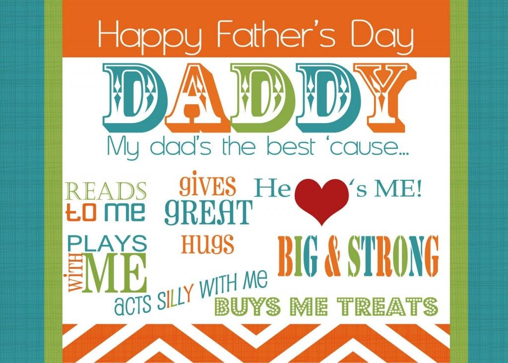 Beautiful colorful happy fathers day daddy greetings from kids beautiful colorful happy fathers day daddy greetings from kids images wallpapers photos pictures m4hsunfo