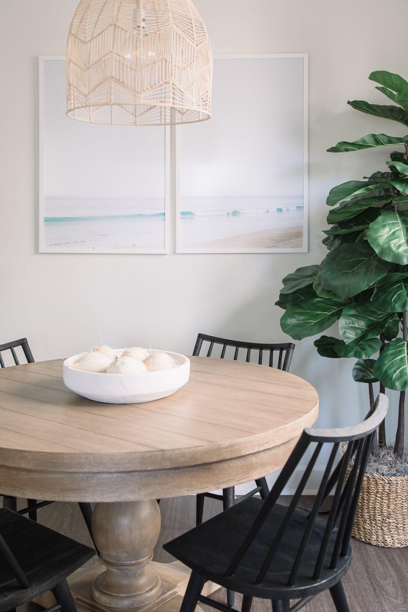North Beach Bungalow — Pure Salt Interiors Rustic round