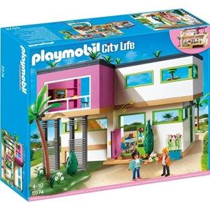 PLAYMOBIL 5574 Maison Moderne | Playmobil and Miniatures