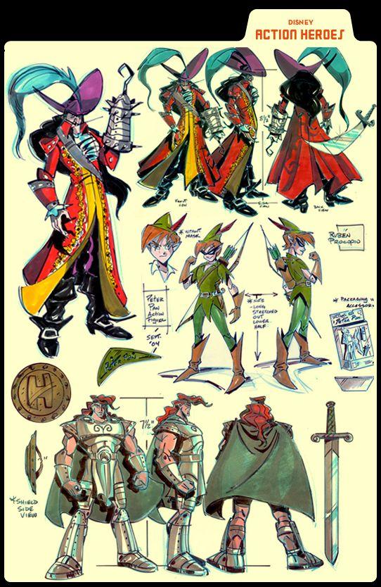 Ruben Procopio -  Peter Pan and Captain Hook - Action Hero