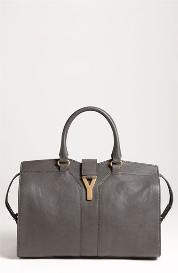 d98c26fe4888 Yves Saint Laurent  Cabas Chyc - Medium  Leather Satchel available at   Nordstrom I will own this one day!!