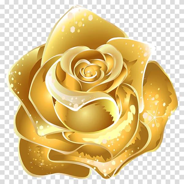Gold Rose Flower Illustration Flower Gold Rose Gold Transparent Background Png Clipart Flower Illustration Rose Art Drawing Flower Bouquet Drawing