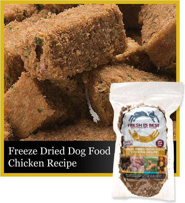 Freeze Dried Chicken Dog Food Chicken Dog Food Recipes